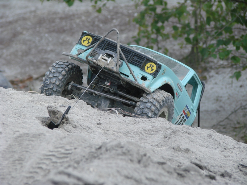 [ SCX10 Axial ] Toyota Hilux trial  29