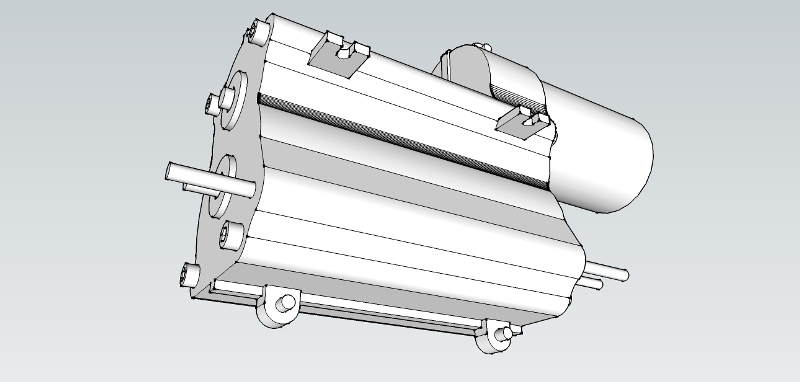 Fichiers 3D perso Sketchup. Boite_Camion_Tamiya