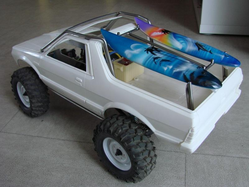 [Axial  AX10 ARTR]  Tamiya Subaru Brat 49