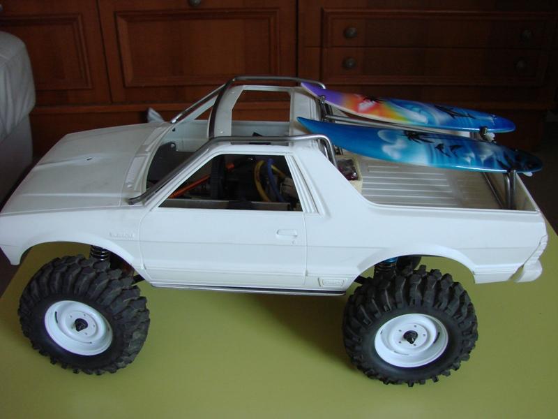 [Axial  AX10 ARTR]  Tamiya Subaru Brat 51