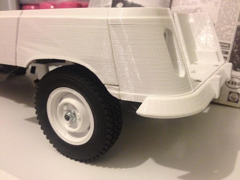 Renault 4 Sinpar 4x4 - ech:1/8 - Impression 3D 026