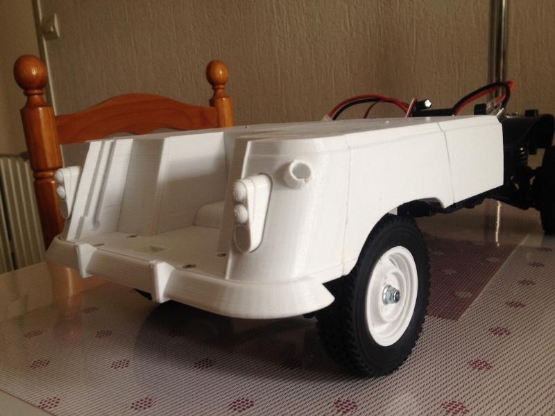 Renault 4 Sinpar 4x4 - ech:1/8 - Impression 3D 038