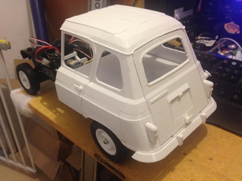 Renault 4 Sinpar 4x4 - ech:1/8 - Impression 3D 040