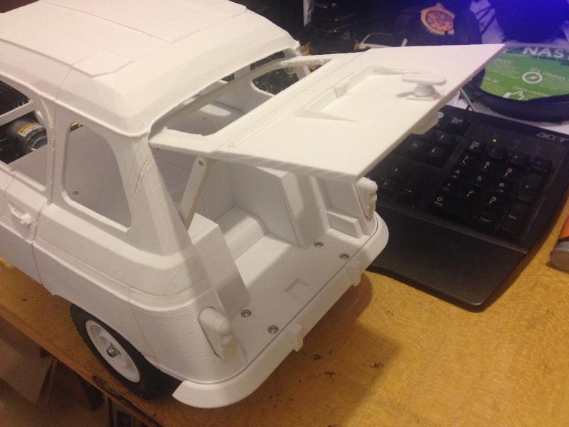 Renault 4 Sinpar 4x4 - ech:1/8 - Impression 3D 041