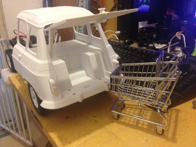 Renault 4 Sinpar 4x4 - ech:1/8 - Impression 3D 048