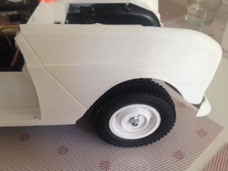 Renault 4 Sinpar 4x4 - ech:1/8 - Impression 3D 056