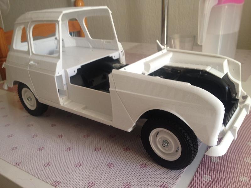 Renault 4 Sinpar 4x4 - ech:1/8 - Impression 3D 057