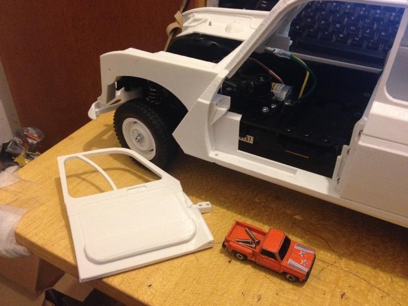 Renault 4 Sinpar 4x4 - ech:1/8 - Impression 3D 060