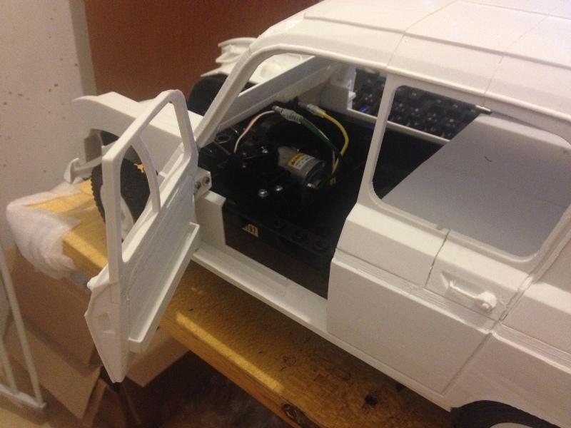 Renault 4 Sinpar 4x4 - ech:1/8 - Impression 3D 061