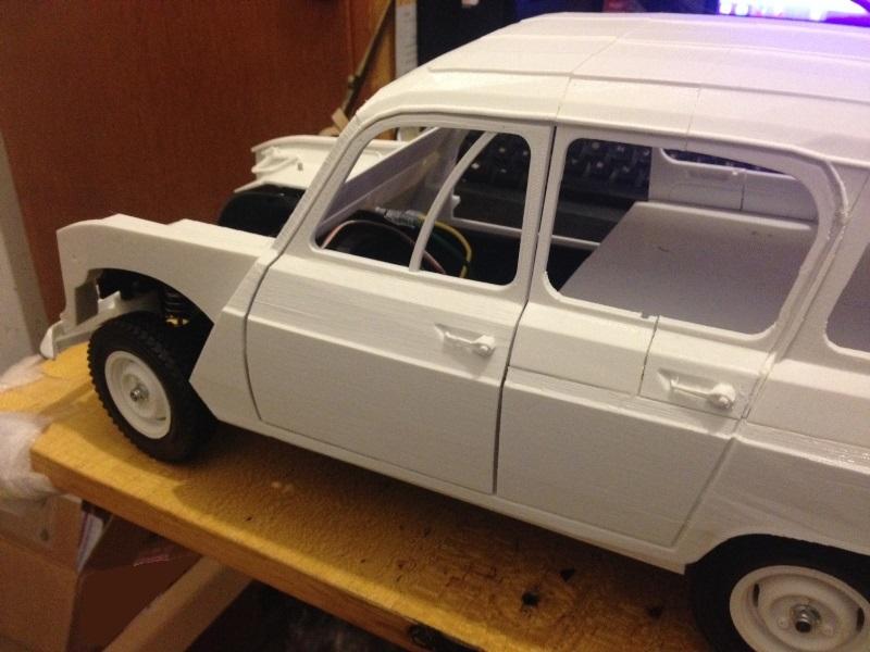 Renault 4 Sinpar 4x4 - ech:1/8 - Impression 3D 062