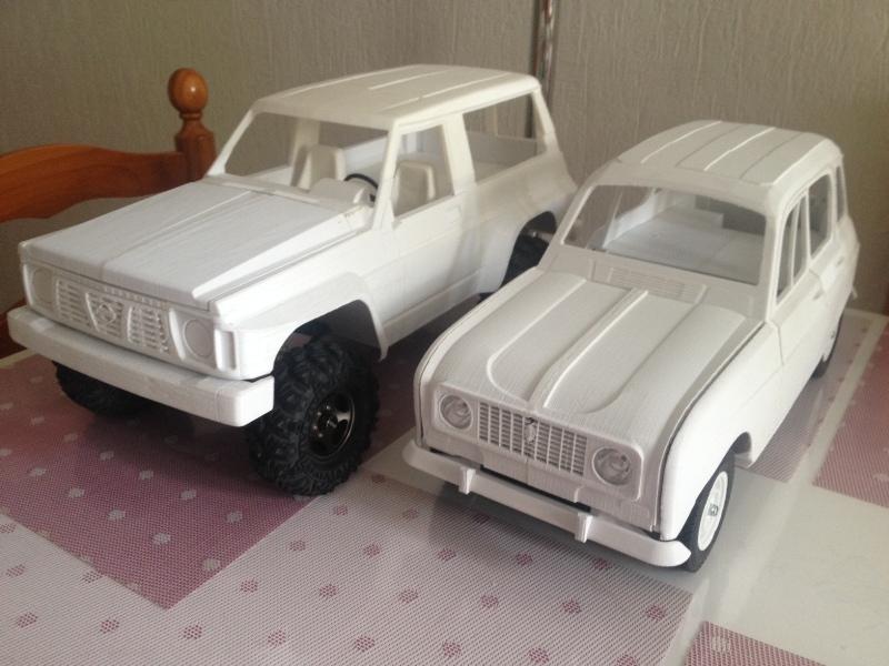 Renault 4 Sinpar 4x4 - ech:1/8 - Impression 3D 063