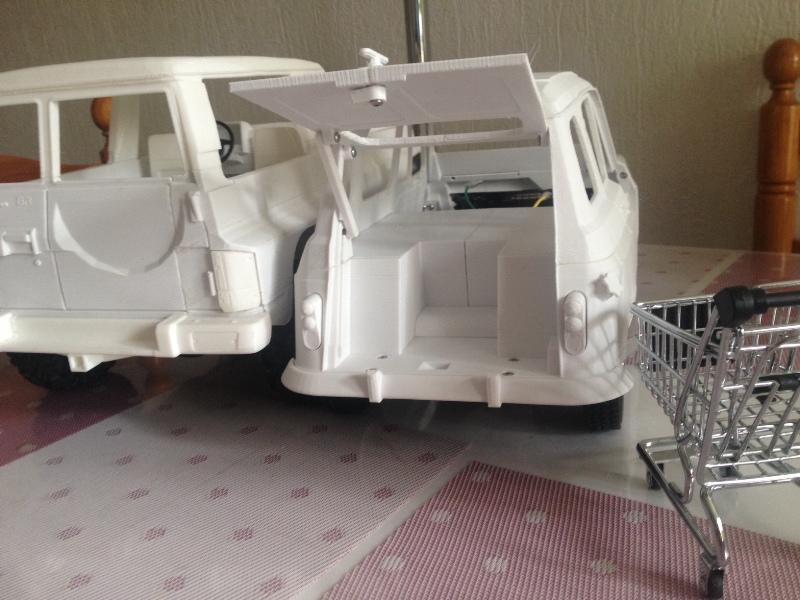 Renault 4 Sinpar 4x4 - ech:1/8 - Impression 3D 069