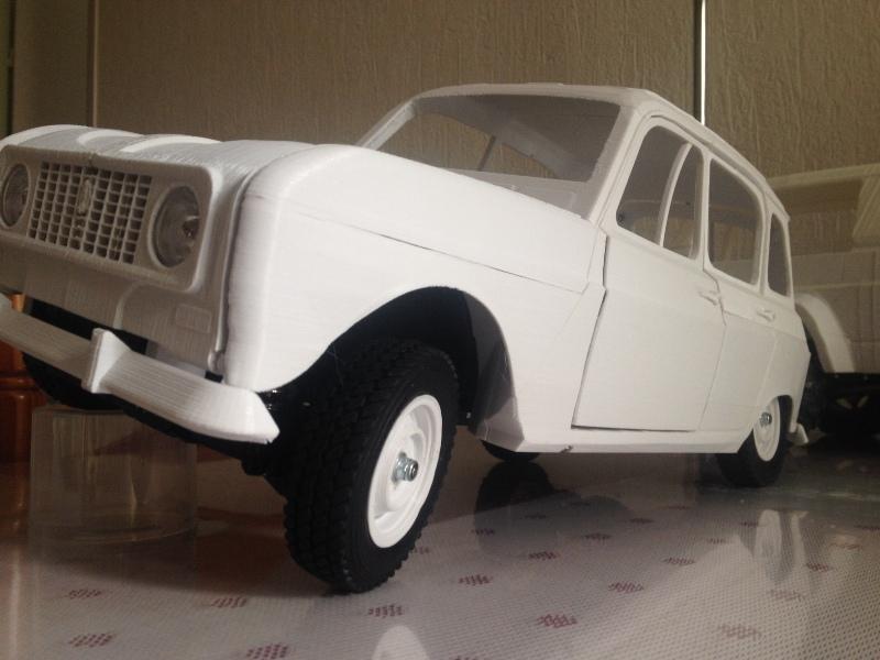 Renault 4 Sinpar 4x4 - ech:1/8 - Impression 3D 071