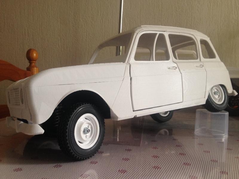 Renault 4 Sinpar 4x4 - ech:1/8 - Impression 3D 072