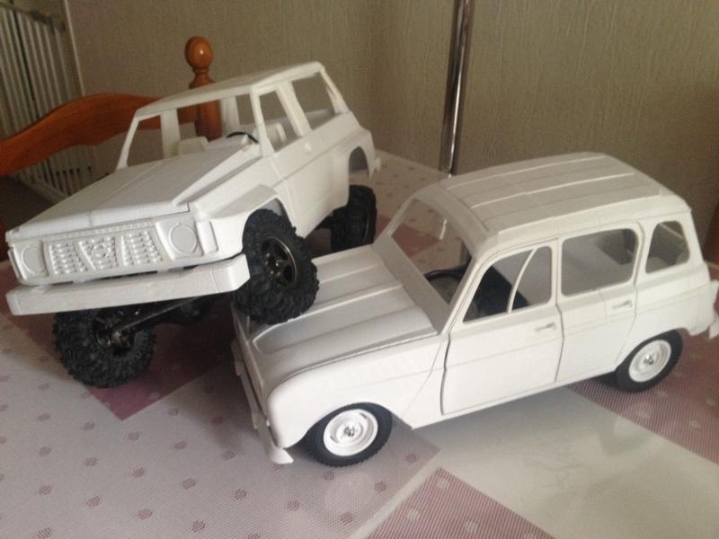 Renault 4 Sinpar 4x4 - ech:1/8 - Impression 3D 073