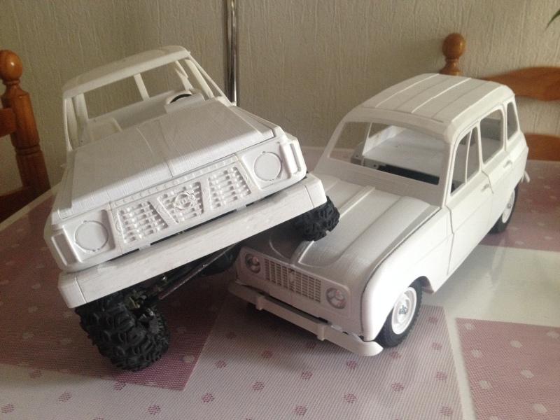 Renault 4 Sinpar 4x4 - ech:1/8 - Impression 3D 074