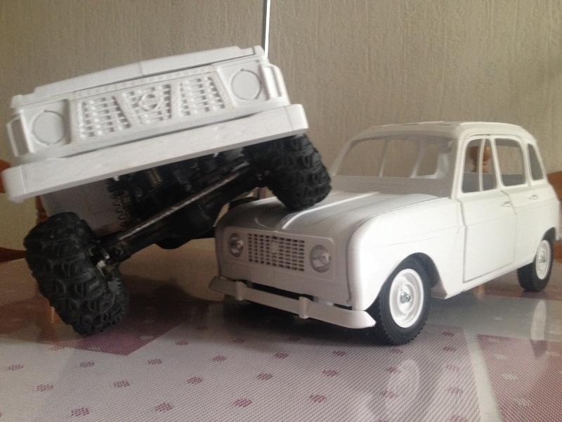 Renault 4 Sinpar 4x4 - ech:1/8 - Impression 3D 075