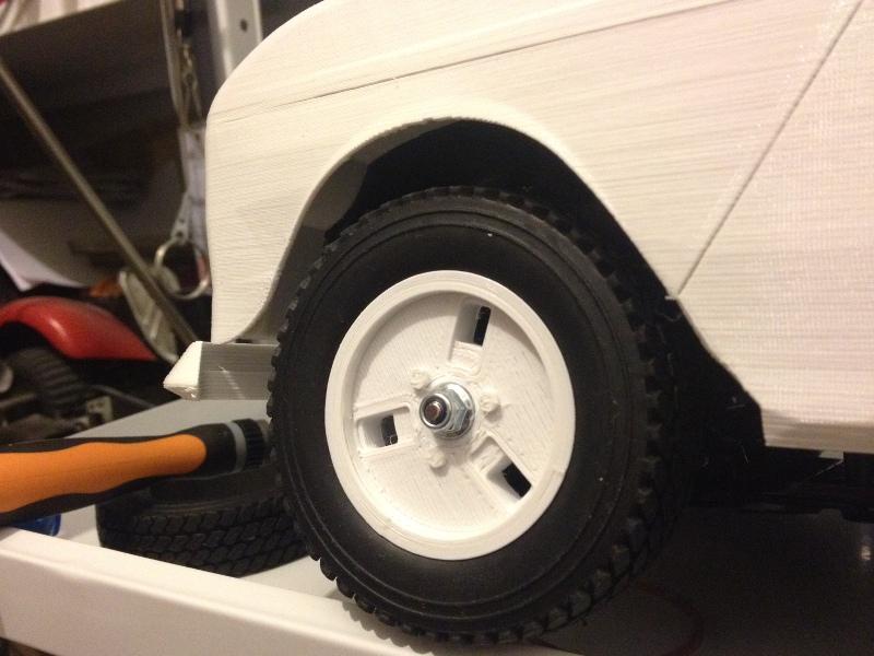Renault 4 Sinpar 4x4 - ech:1/8 - Impression 3D 078