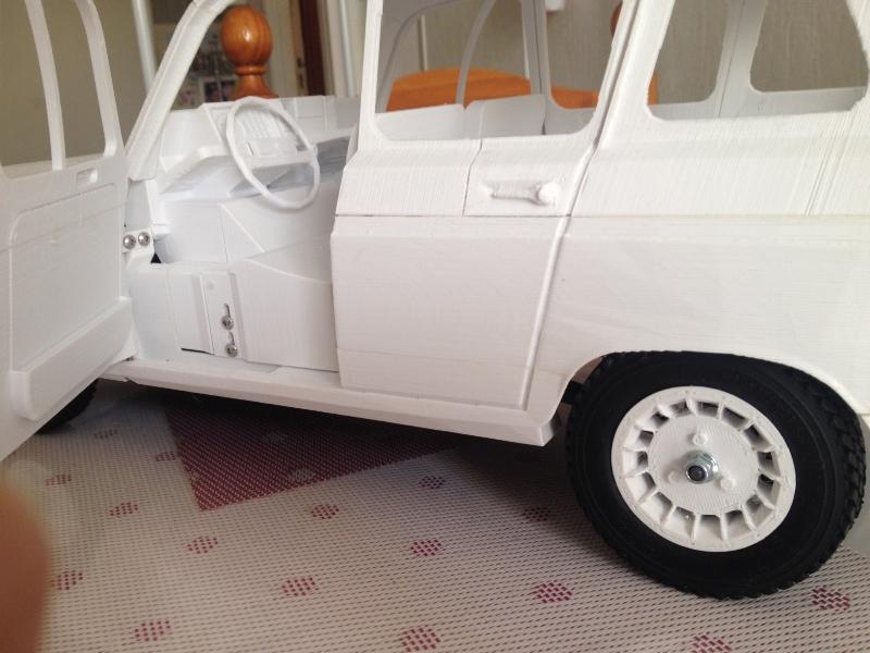 Renault 4 Sinpar 4x4 - ech:1/8 - Impression 3D 079