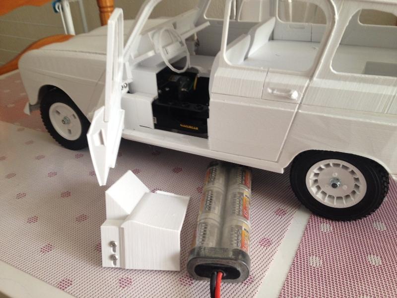 Renault 4 Sinpar 4x4 - ech:1/8 - Impression 3D 081
