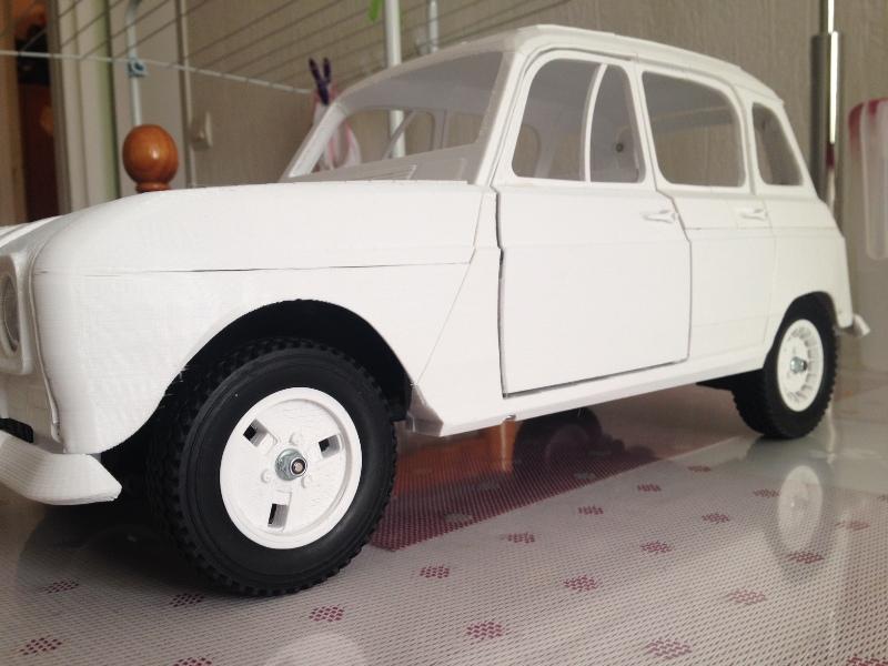 Renault 4 Sinpar 4x4 - ech:1/8 - Impression 3D 082