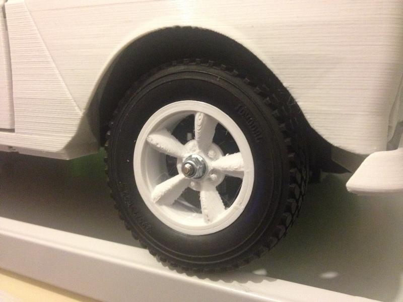Renault 4 Sinpar 4x4 - ech:1/8 - Impression 3D 085