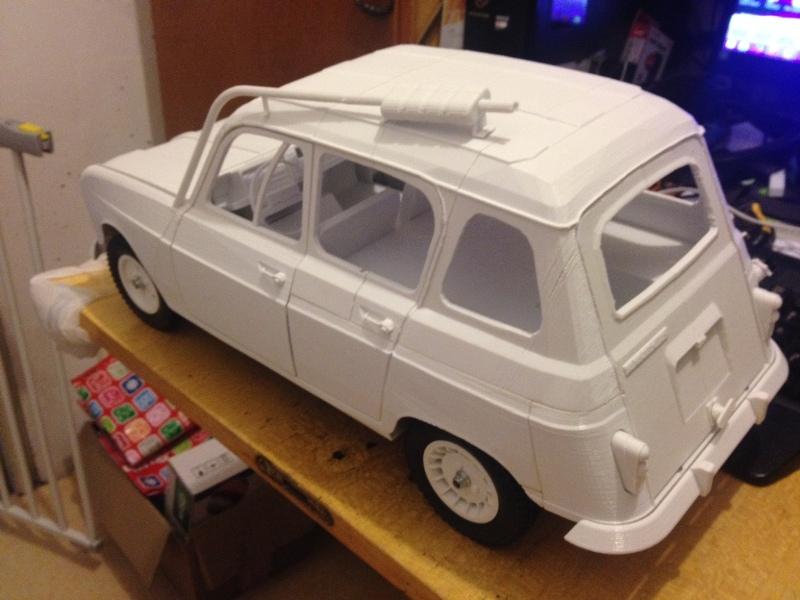 Renault 4 Sinpar 4x4 - ech:1/8 - Impression 3D 087