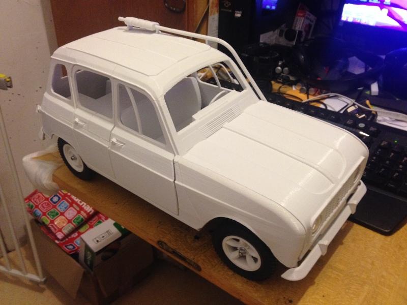 Renault 4 Sinpar 4x4 - ech:1/8 - Impression 3D 088