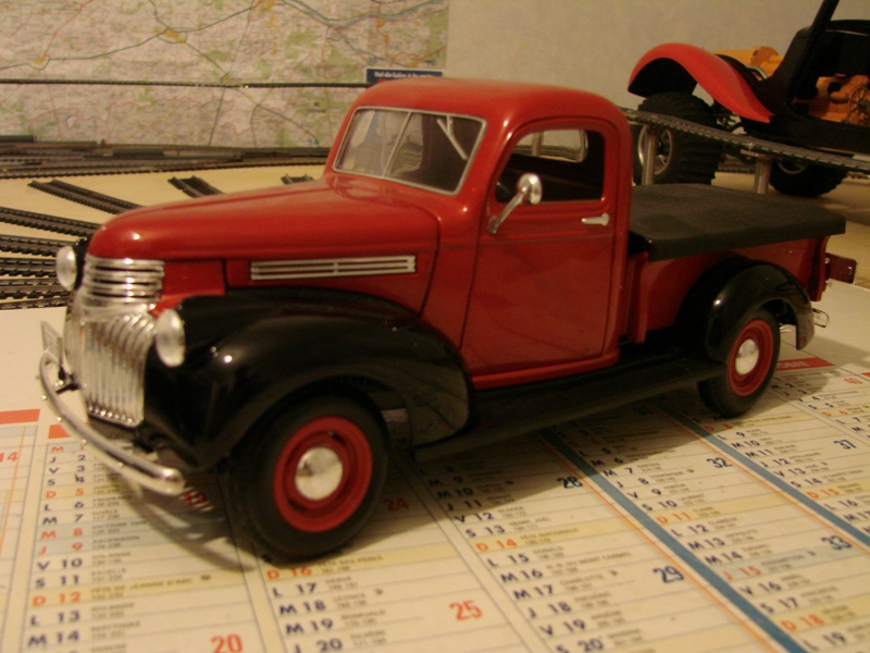 [Losi Micro Crawler] Chevrolet Pick-up 1946 1/19  005