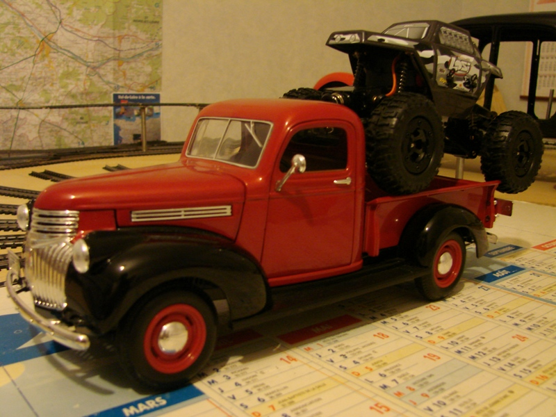 [Losi Micro Crawler] Chevrolet Pick-up 1946 1/19  007