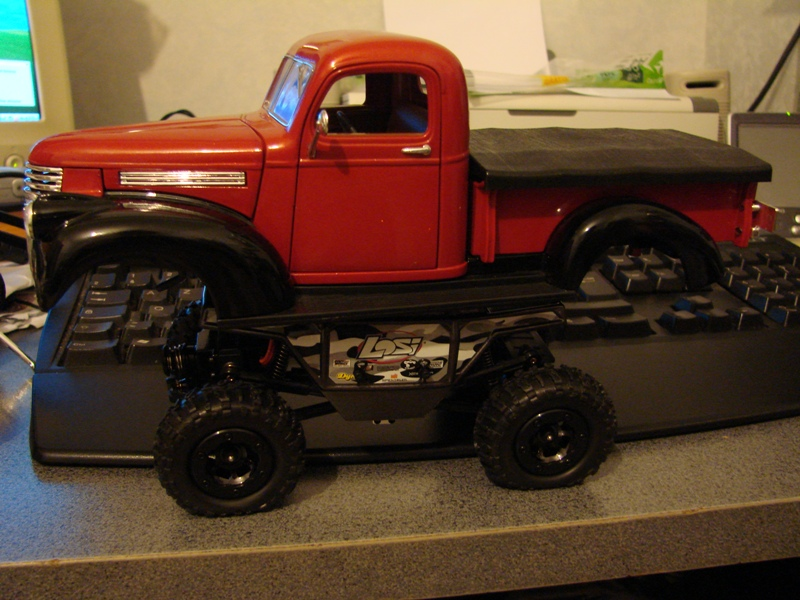 [Losi Micro Crawler] Chevrolet Pick-up 1946 1/19  011