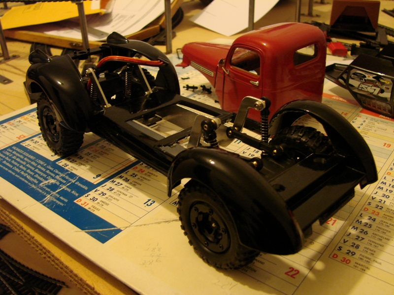 [Losi Micro Crawler] Chevrolet Pick-up 1946 1/19  028