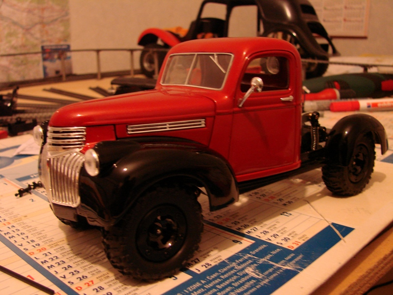 [Losi Micro Crawler] Chevrolet Pick-up 1946 1/19  029