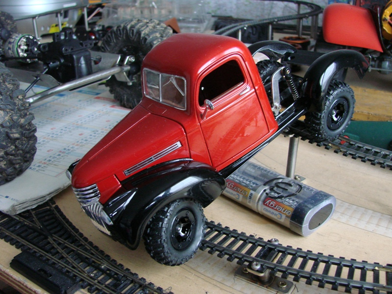 [Losi Micro Crawler] Chevrolet Pick-up 1946 1/19  034