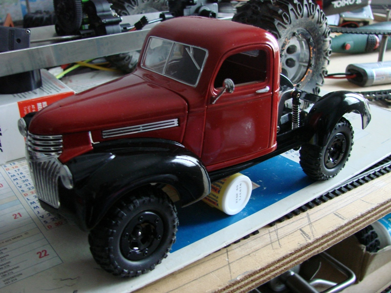 [Losi Micro Crawler] Chevrolet Pick-up 1946 1/19  035