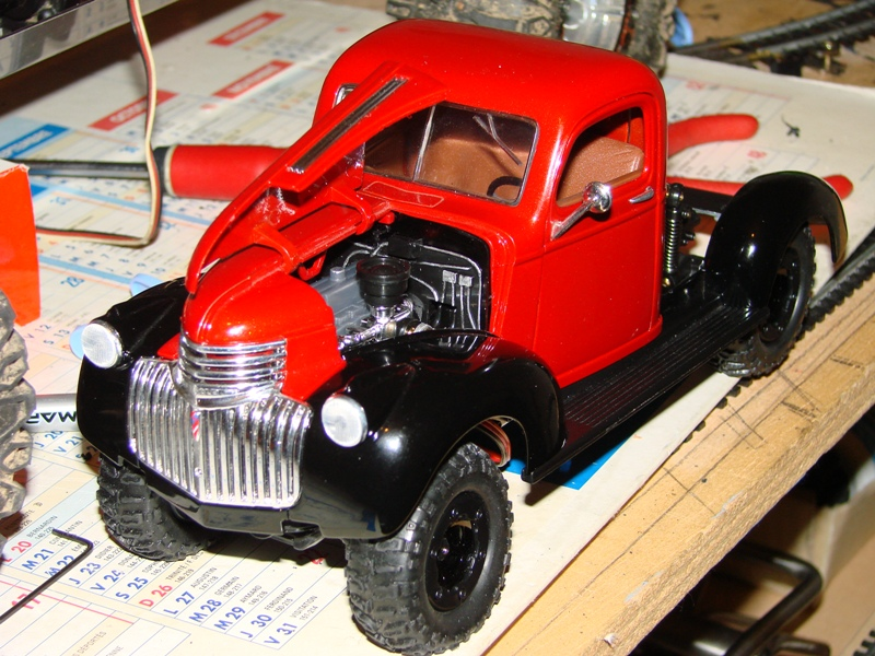 [Losi Micro Crawler] Chevrolet Pick-up 1946 1/19  043