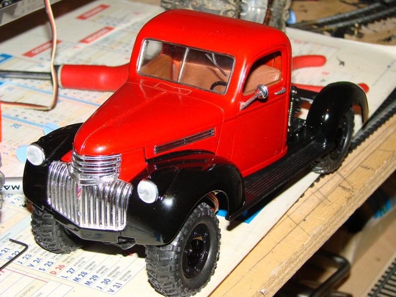 [Losi Micro Crawler] Chevrolet Pick-up 1946 1/19  044