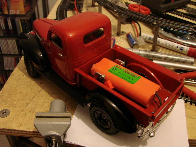[Losi Micro Crawler] Chevrolet Pick-up 1946 1/19  047
