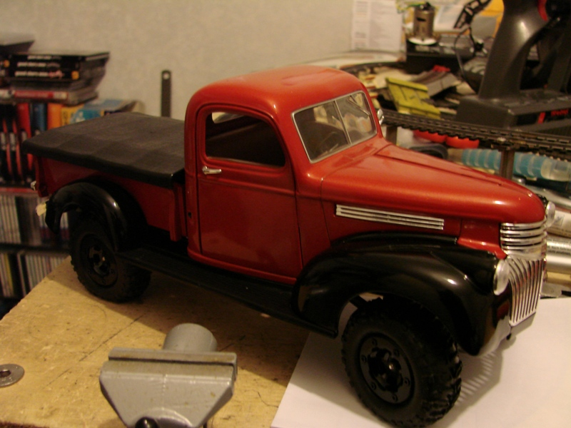 [Losi Micro Crawler] Chevrolet Pick-up 1946 1/19  049