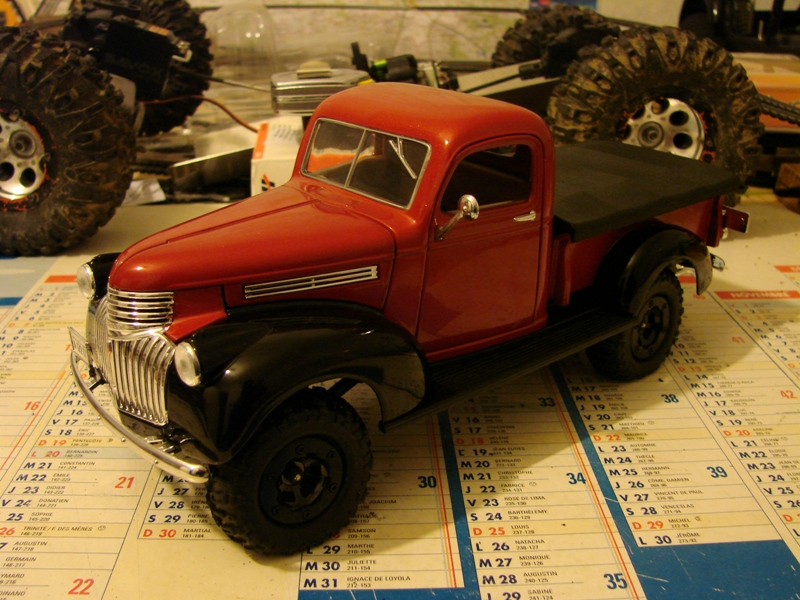 [Losi Micro Crawler] Chevrolet Pick-up 1946 1/19  052