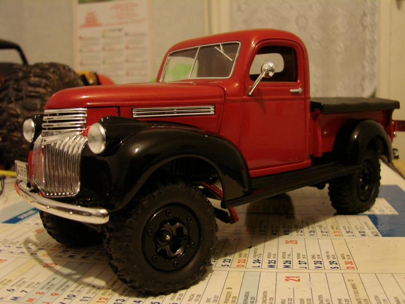 [Losi Micro Crawler] Chevrolet Pick-up 1946 1/19  054