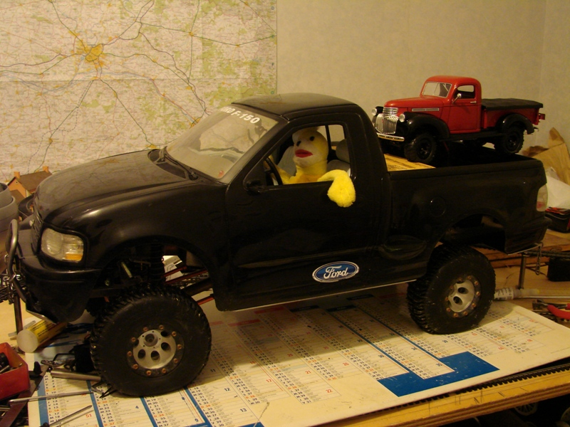 [Losi Micro Crawler] Chevrolet Pick-up 1946 1/19  057