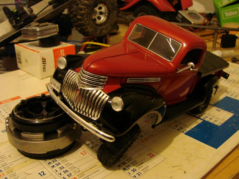 [Losi Micro Crawler] Chevrolet Pick-up 1946 1/19  059