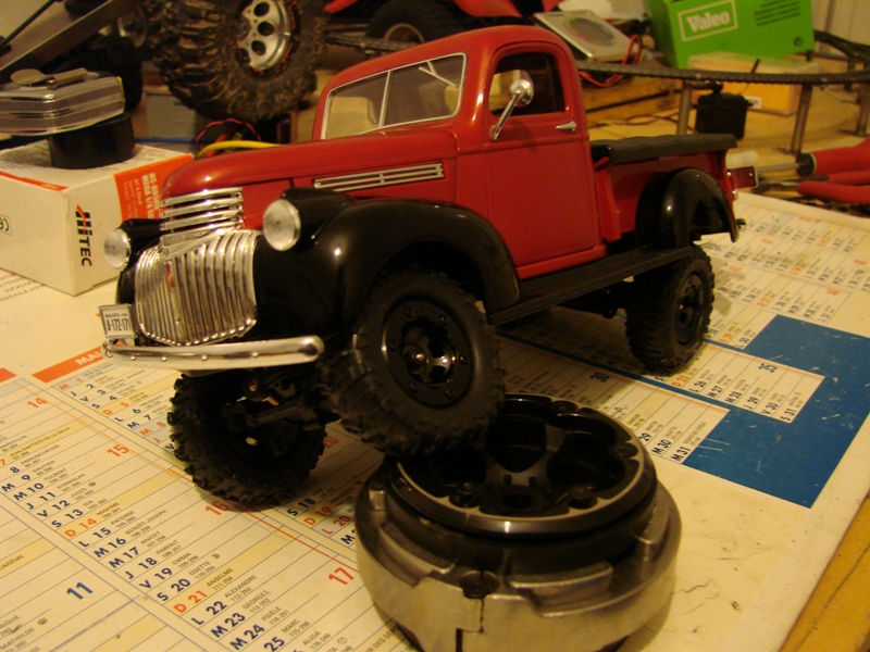 [Losi Micro Crawler] Chevrolet Pick-up 1946 1/19  060