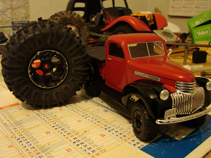 [Losi Micro Crawler] Chevrolet Pick-up 1946 1/19  061