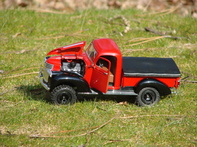 [Losi Micro Crawler] Chevrolet Pick-up 1946 1/19  075