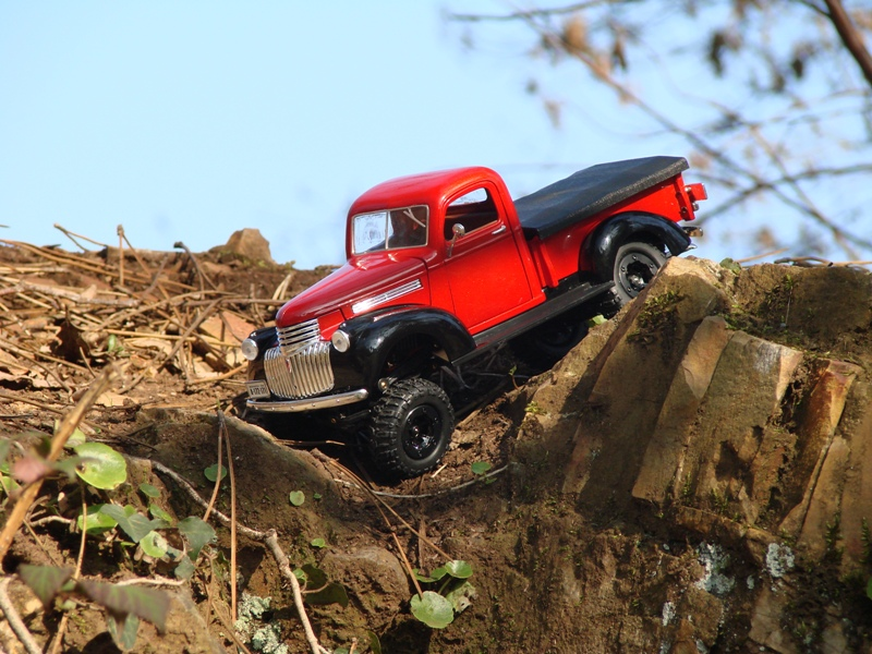 [Losi Micro Crawler] Chevrolet Pick-up 1946 1/19  077