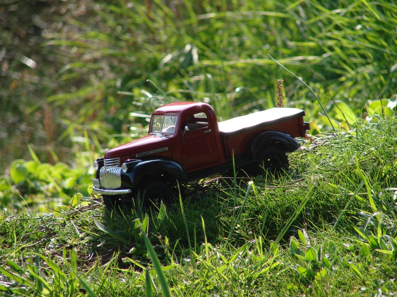 [Losi Micro Crawler] Chevrolet Pick-up 1946 1/19  082