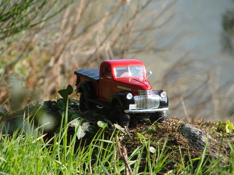 [Losi Micro Crawler] Chevrolet Pick-up 1946 1/19  083
