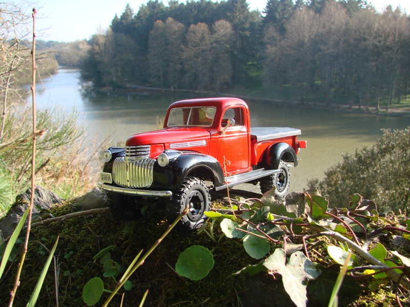 [Losi Micro Crawler] Chevrolet Pick-up 1946 1/19  085